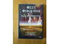 Ozzy Osbourne & Black Sabbath - On the Rock Trail DVD NEW (no music)