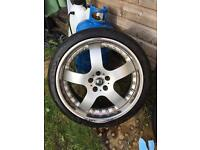 "19"" 5x108 ford jaguar Volvo alloys and tyres"