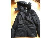 Men's thick winter coat size M