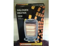 Hyundai Halogen Heater 1200W-See Description Below-Proceeds To Local Charity