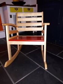 Wooden Childs Rocking Chair £10