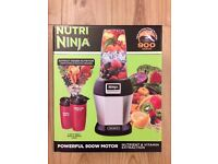 Nutri Ninja Pro Complete Personal Blender 900W - BL470UK - Silver - Brand New, Sealed and Unopened