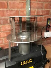 Stainless steel chimney cowl