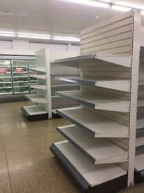SHELVING VERY GOOD CONDITION SHOP CLOSED ALL IN VERY GOOD CONDITION ALL MUST BE SOLD