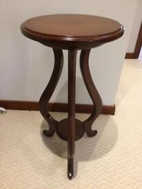 Wooden table stand