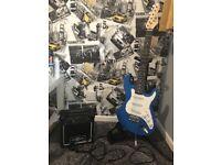 Electric guitar set. 3/4 size