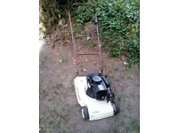 Push Petrol Lawnmower with Back Roller