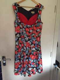 2 Lindy Bop vintage style dresses size 16