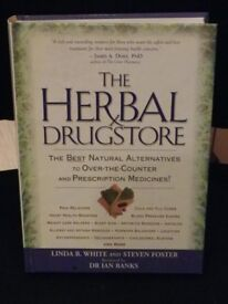 The Herbal Drugstore Hardback Book