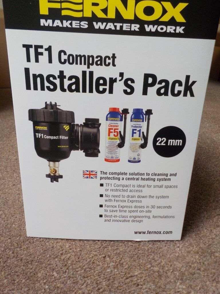 FERNOX TF1 COMPACT INSTALLER'S PACK - 22MM