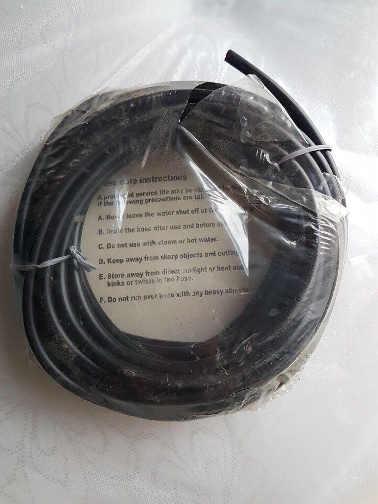 WATER SUPPLY PIPE  7mm Black  10 metres long | in Selly Oak, West Midlands  | Gumtree