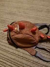 LittleLife baby dinosaur backpack