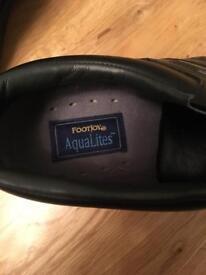 Footjoy AquaLites Men's Golf Shoes size 10.5/Euro 45
