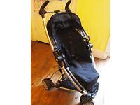 Quinny Zapp Xtra Pushchair/stroller In Rocking Black