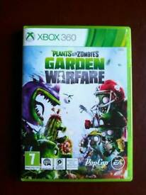 Plants vs Zombies Garden Warfare Xbox 360 game.