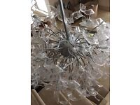Stunning Contemporary Italian Glass Chandelier RRP £5500
