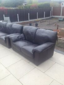 Sofa three and two seater