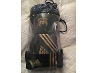 Adidas hybrid earotech 12 oz black gloves