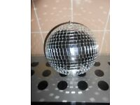 8INCH MIRRORED DISCO BALL