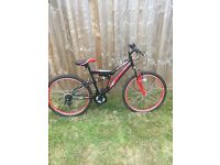 Mans bicycle boss venom in mint condition