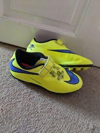 Nike Hypervenom football boots size UK 12 kids
