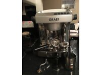 Graef Coffee Espresso machine ES 95 plus extras - like new