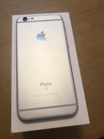 iPhone 6s 128gb White silver Big Memory Unlocked