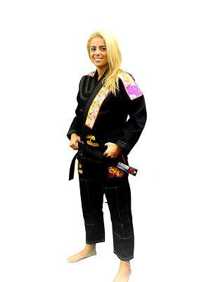 Break Point Womens Dragonfly BJJ Jiu Jitsu Gi - Black