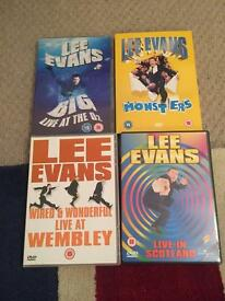 lee Evans DVD collection £5