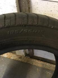 Avon 185/55/15 zz tyre