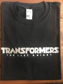 Original Transformers The Last Knight T-Shirt - New