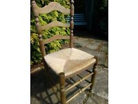 Rustic style chairs