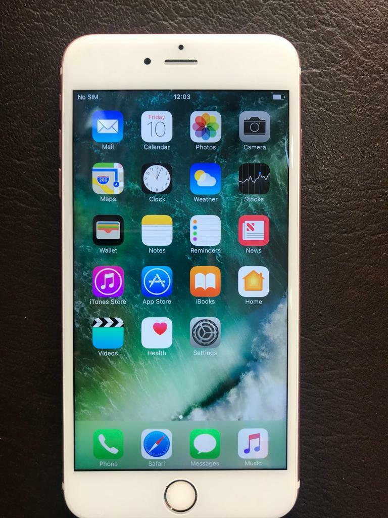 iPhone 6s Plus 16 GB in Rose Gold Colour