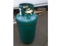 Empty gas bottle with valve 10kg