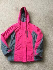 Ladies waterproof and windproof coat