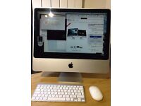 "iMac 20"" 2.4Ghz desktop computer. Immaculate, inc wireless keyboard & mouse"