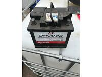 Dynamic car battery 44ah