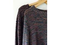 Two knitted jumpers
