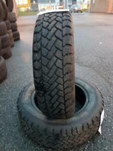 2 PNEUS HIVER - SNOWTRAKKER 185 65 15 - 2 WINTER TIRES