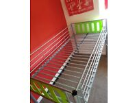 Single metal Cabin Bed with ladder