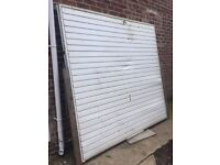 Free garage door, collection only