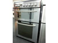 Indesit Electric cooker KD6C35X/FS20341,6 months warranty, delivery available in Devon/Cornwall