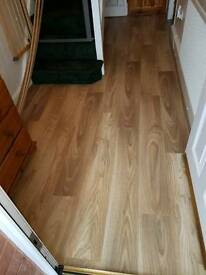 Laminate Man Flooring ##Flash Sale 10% off this week only##(Professional Fitter)