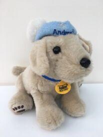 collectors Andrex Puppy Snowflake vgc