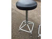 Pair of retro bar stools