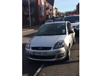 Silver Ford Fiesta 1.4 Zetec Climate 3dr