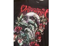 Bullet for my valentine t shirt