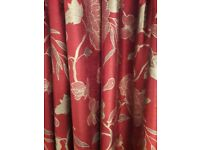 FULLY LINED FULL LENGTH CURTAINS
