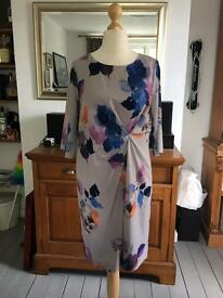 John Lewis Capsule Collection - Gathered painted silk style dress