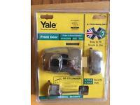 Yale front door security lock